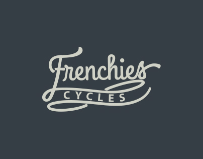 Visual Identity - Frenchies Cycles