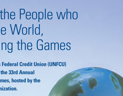 UN Interagency Games (UNIAG) ad for United Nations FCU