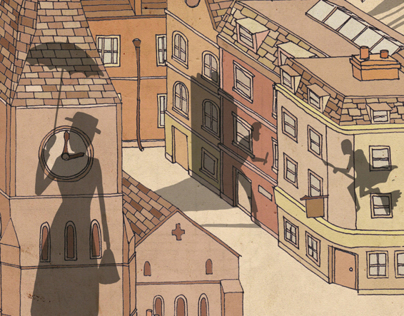 Serco Prize for Illustration 2014 - London stories