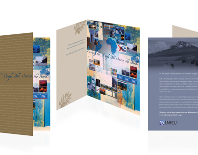 United Nations Federal Credit Union Holiday Card