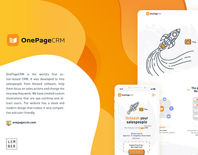 One Page CRM
