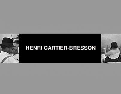 Henri Cartier-Bresson Website