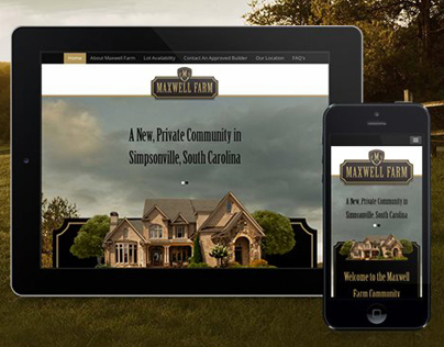 Maxwell Farm Website - Private Community