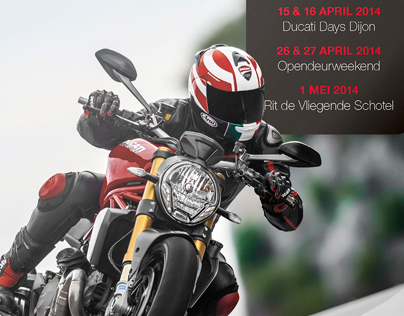 Ducati Gent - Advertising