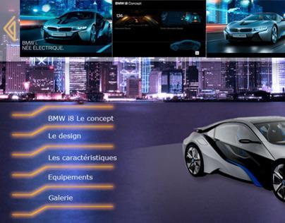 Site web : BMW i8