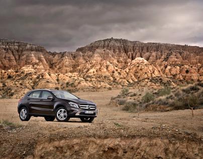The new GLA, Granada, Client Daimler AG