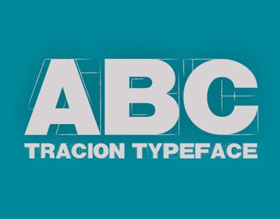 TRACION / Free typeface