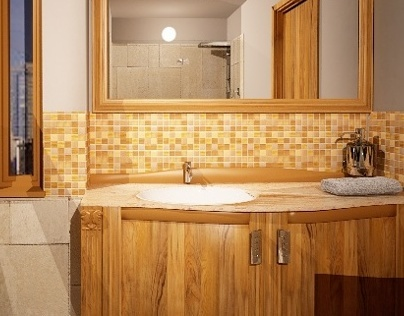 Small bathroom plan
