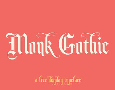 MONK GOTHIC - FREE FONT