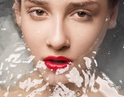 Beauty editorial: Aqua