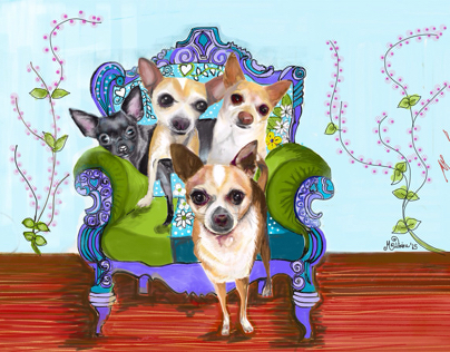 The 4 ChiChis~Featured on Adobe Photoshop~2-Jan
