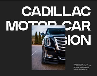 Cadillac — new website 2021