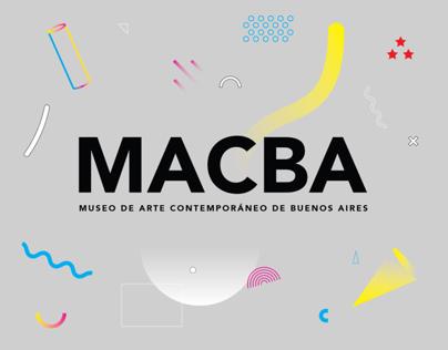 MACBA - Identidad Museo