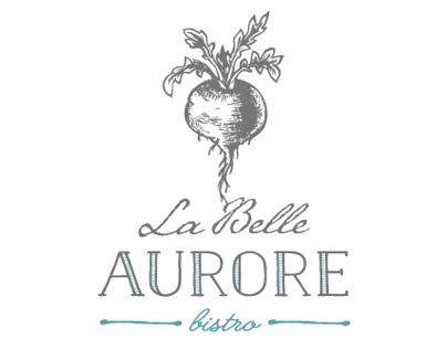 La Belle Aurore Bistro Branding