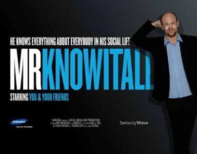 Samsung Mr Knowitall