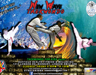New Wave TKD Flyer
