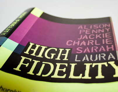 Book Cover Redesign: High Fidelity by Nick Hornby