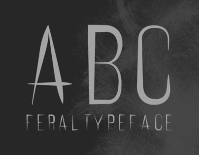 FERAL / Free Typeface