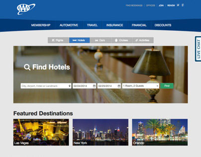 Hotel Landing Page