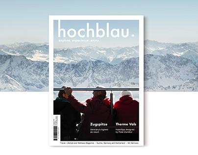 hochblau magazine