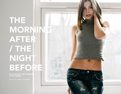 The morning after / The night before. Hangover Magazine