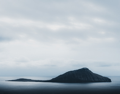 Minimal landscapes of the Faroe Islands