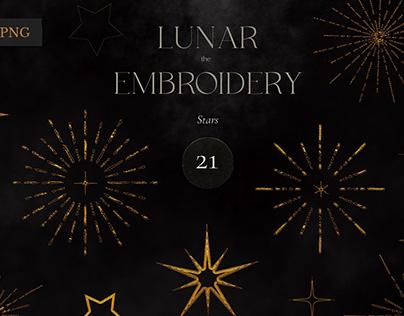 Lunar Calendar 2021 Black & Gold ByLana Elanor