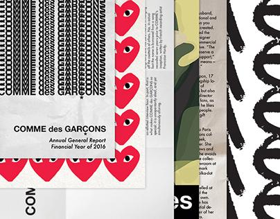 COMME des GARÇONS—Annual General Report