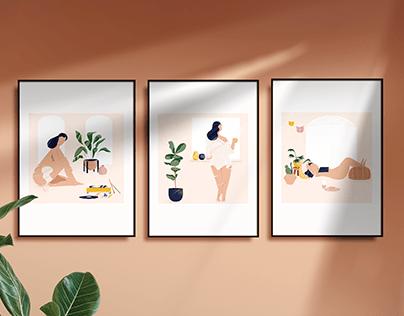 Sunday Series Art Prints