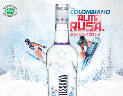 Un Colombiano con alma Rusa.