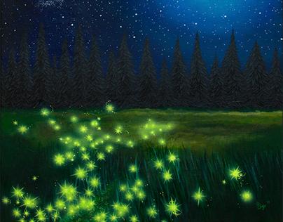 A Firefly is a Fallen Star