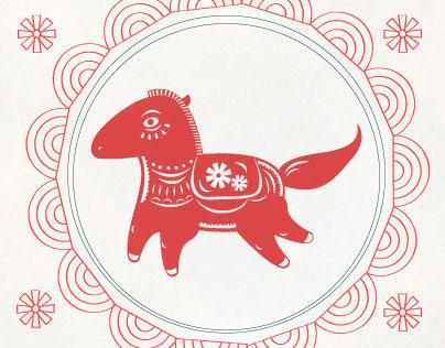 Chinese New Year 2014 - Horse