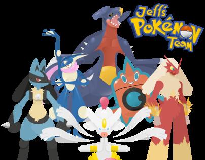 My poké team