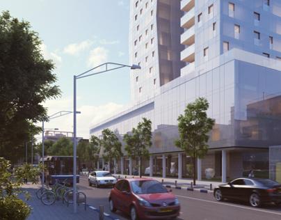 Arlozorov 17 Tel Aviv - Architecture Visualization