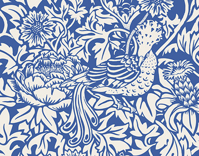 Bird & Flower PATTERN