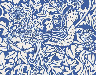 Bird & Flower PATTERN