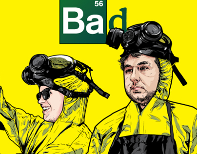 Breaking Bad Poster (Parody)