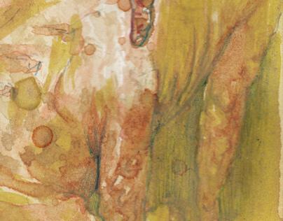 monster in watercolor