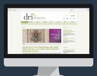 Digital Repository of Ireland - Website