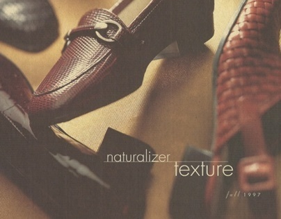 Naturalizer Shoe brochure