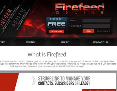 Firefeed - Manage | Engage | Analyse