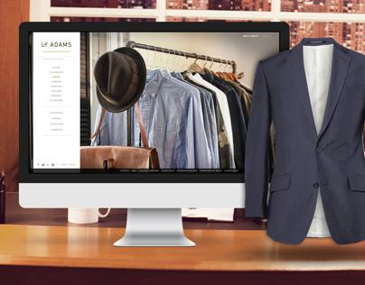 E-Shop L.Y Adams Concept