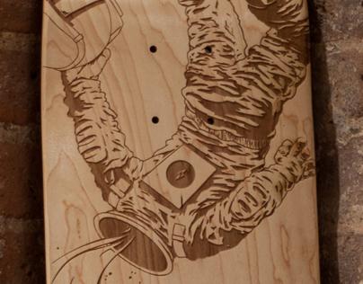 Laser Engraved Spacedeck