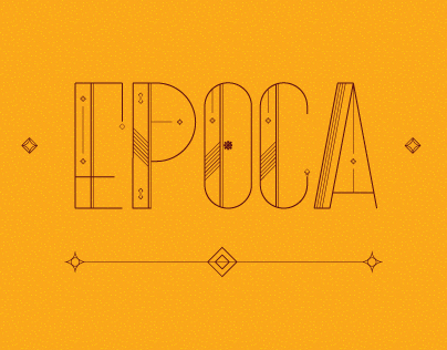 Epoca - Animated Typeface