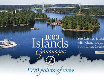 1000 Islands Tourism Campaign and Website