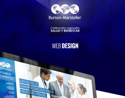 B-M Health Care LATAM / Web Design