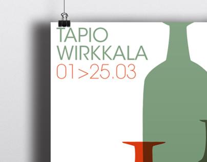 Tapio Wirkkala exhibition poster