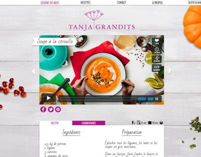 Blog for the chef Tanja Grandits