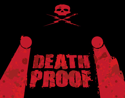 Grindhouse death proof on behance for Grindhouse poster template