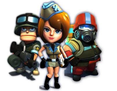 Battlefront Heroes - Sound Design - 2013